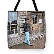21st Century Cowboy Tote Bag