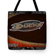 Anaheim Ducks Tote Bag