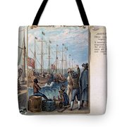 Boston Tea Party, 1773 Tote Bag