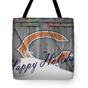 Chicago Bears Tote Bag by Joe Hamilton