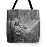 Dor� The Raven, 1882 Tote Bag