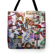 22 Holy Letters Tote Bag