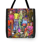 Shop Talk Tote Bag