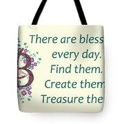 223- Blessings Tote Bag