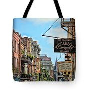 228 Charters New Orleans Tote Bag