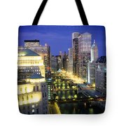 Buildings At The Waterfront Tote Bag