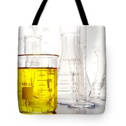 Laboratory Equipment In Science Research Lab Tote Bag