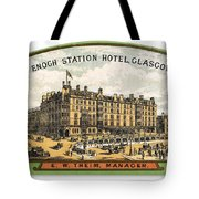 Luggage Label Tote Bag