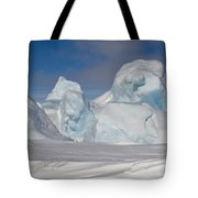 Pack Ice, Antarctica Tote Bag