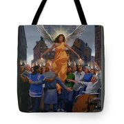 23. The Holy Spirit Arrives / From The Passion Of Christ - A Gay Vision Tote Bag