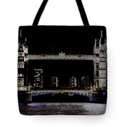 Tower Bridge Art Tote Bag