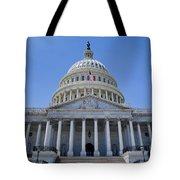 Us Capitol Building Tote Bag