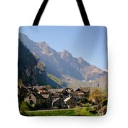 Alpine Village Tote Bag