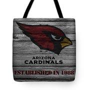 Arizona Cardinals Tote Bag by Joe Hamilton