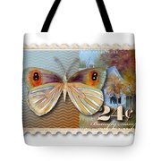24 Cent Butterfly Stamp Tote Bag