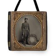 Civil War Soldier, C1863 Tote Bag