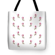 24 Dancing Pink Magnolias Square Tote Bag