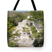 Edzna In Campeche Tote Bag