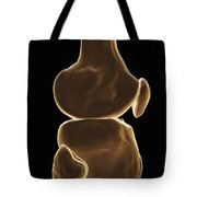 Knee Bones Right Tote Bag