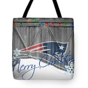 New England Patriots Tote Bag