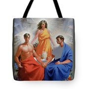 24. The Trinity / From The Passion Of Christ - A Gay Vision Tote Bag