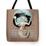 24x36 Choose Mermaid Tote Bag