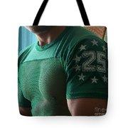 #25 Bicep Color Tote Bag