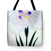 Japanese Flower Tote Bag