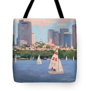 25 On The Charles Tote Bag