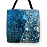 26 East Antenna Abstract 1 Tote Bag