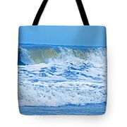 Hurricane Storm Waves Tote Bag