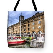 St Katherines Dock London Tote Bag