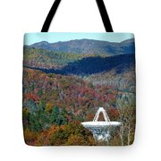 26 West Antenna And The Blueridge Tote Bag