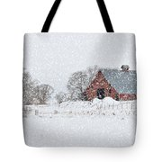 Blizzard Tote Bag