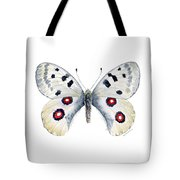 28 Apollo Butterfly Tote Bag