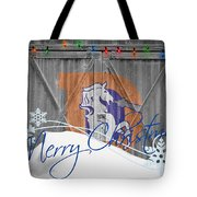 Denver Broncos Tote Bag by Joe Hamilton