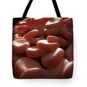 Red Blood Cells Tote Bag