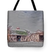 29 Mile Road Barn Tote Bag