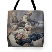 29 Palms Mural 1 Tote Bag