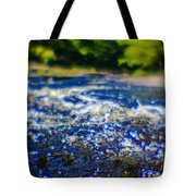 The Stream In Mountain Tote Bag