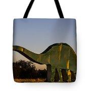 2d Brontosaurus Tote Bag