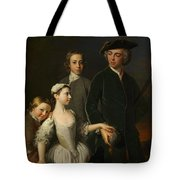 2nd Baron Mansel Of Margam With His Blackwood Half-brothers And Sister  Tote Bag