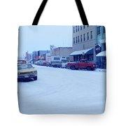 2nd Street Fairbanks Alaska 1969 Tote Bag