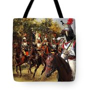 Borzoi - Russian Wolfhound Art Canvas Print Tote Bag