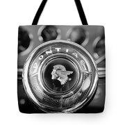 1933 Pontiac Steering Wheel Emblem Tote Bag