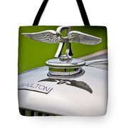1937 Railton Rippon Brothers Special Limousine Hood Ornament Tote Bag by Jill Reger