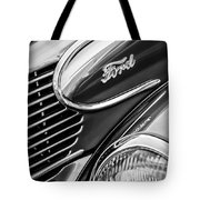 1939 Ford Woody Wagon Side Emblem Tote Bag