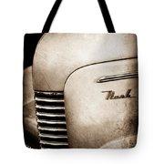 1940 Nash Sedan Grille Tote Bag