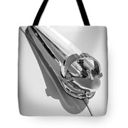 1947 Chevrolet Deluxe Hood Ornament Tote Bag
