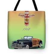1948 Chrysler Town And Country Tote Bag